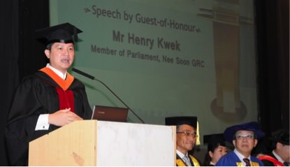 Mr Henry Kwek, MP for Nee Soon GRC