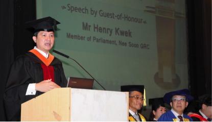 Mr Henry Kwek, MP for Nee Soon GRC