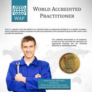 WORLD ACCREDITED PRACTIONER - WAP