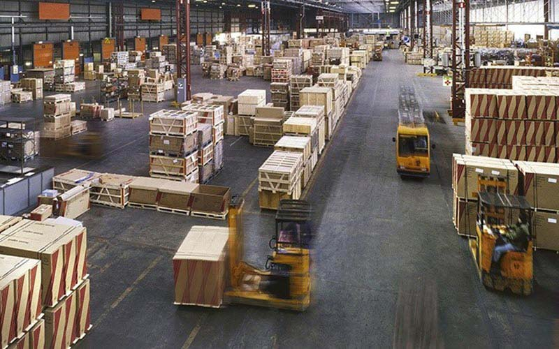 Layout of the warehouse