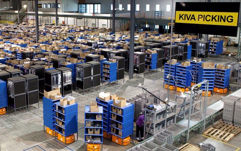 Warehouse blue