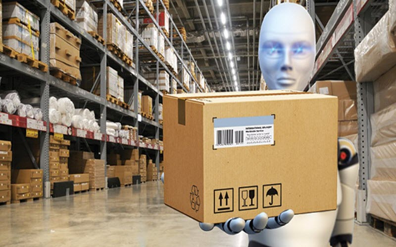 Warehouse robot operation