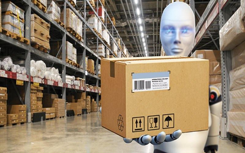 Warehouse robot operation