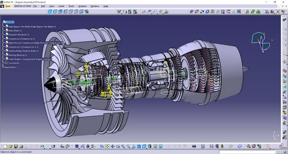 Product design by using CATIA - SIPMM