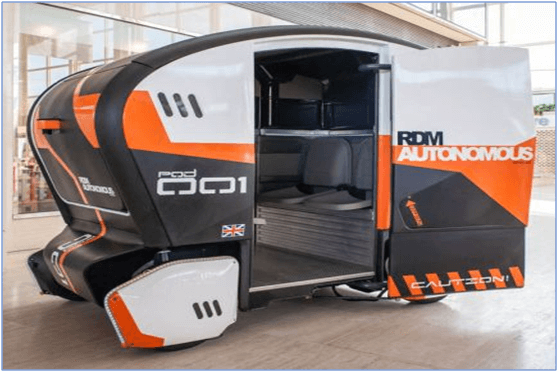 Autonomous Vehicles for Logistics and Shipping