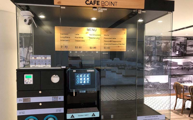 Cafe Point at Trade Association Hub (TA Hub) - SIPMM
