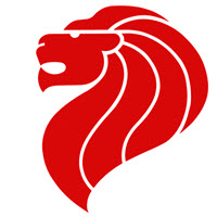Singapore Merlion Logo - SIPMM