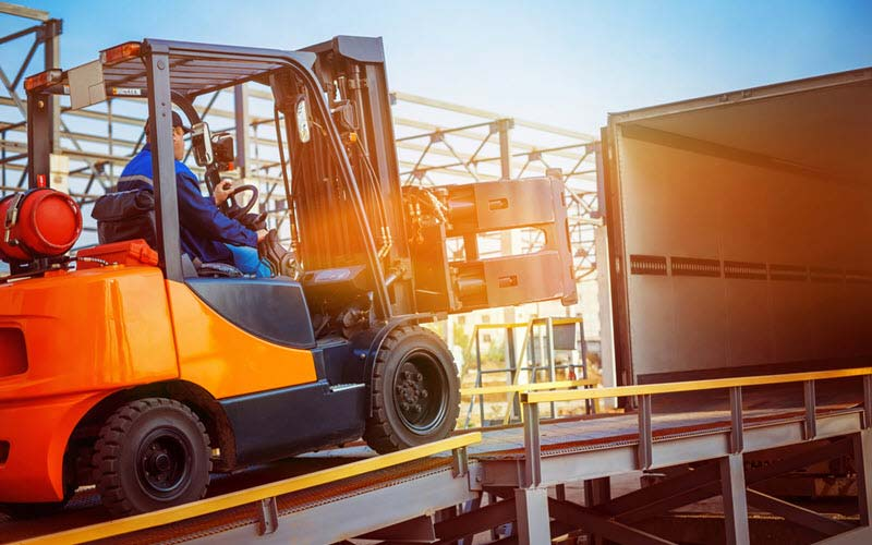 Transport from Warehouse to Cargo using Forklift - SIPMM