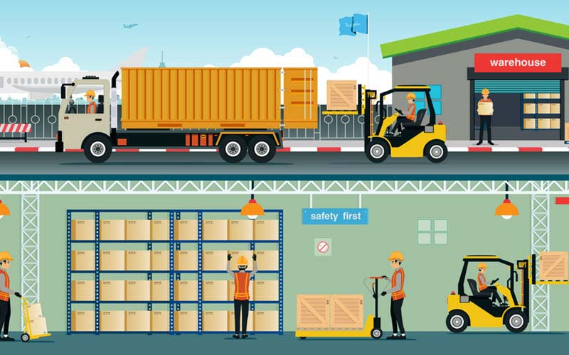 Transportation of goods from Warehouse - SIPMM