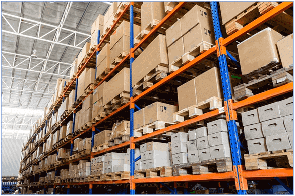 Warehouse fully utilize space