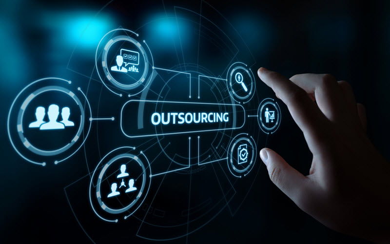 High Tech Outsourcing concept - SIPMM