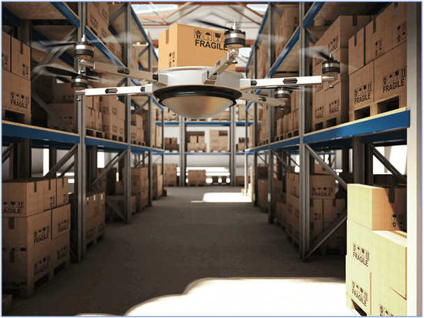 Drones for Warehousing