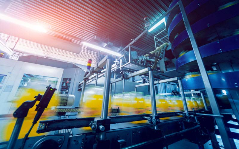 Modern machine for packaging line in Warehouse - SIPMM
