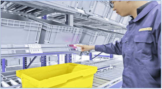 Paperless Order Picking and Packing System