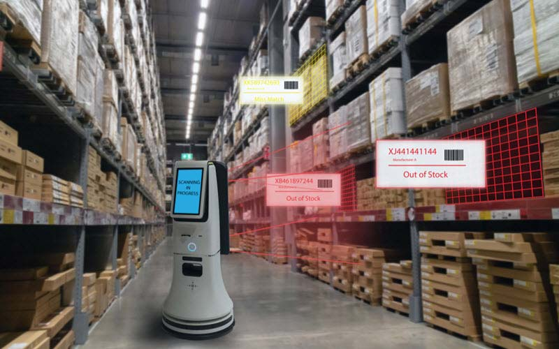 Robot in warehouse inventory control - SIPMM