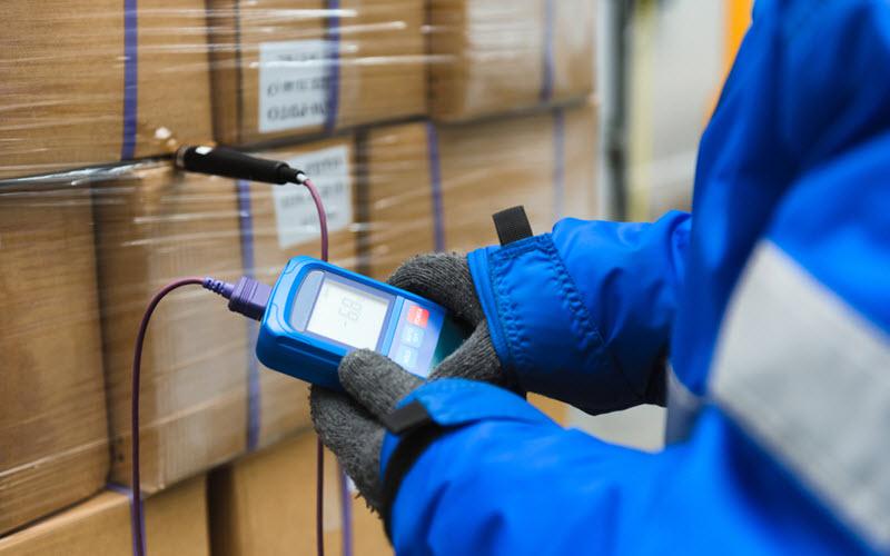 Temperature measurement in cold storage warehouse - SIPMM