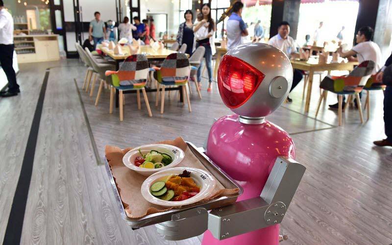 Robot serving food - SIPMM