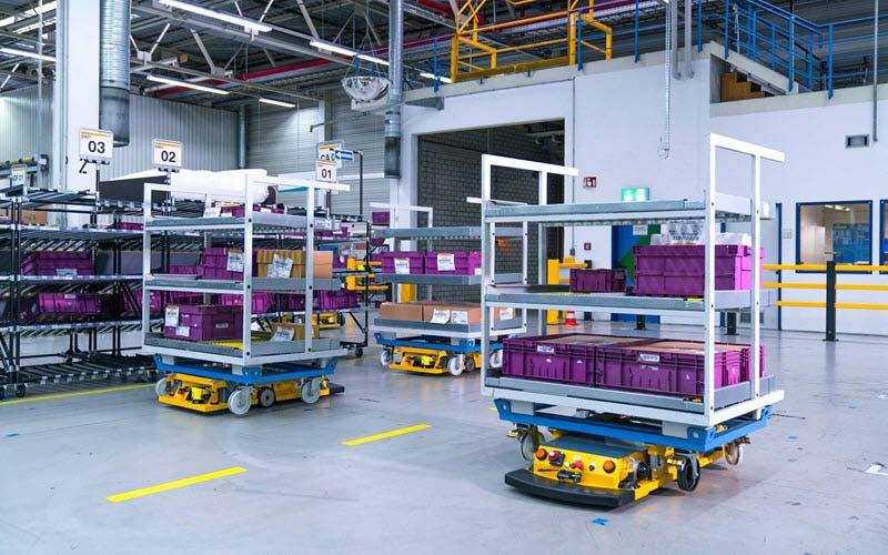 Smart Robotic Transportation - SIPMM