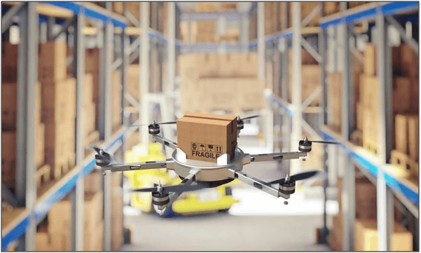 Aerial Drones for Accurate and Faster Inventory