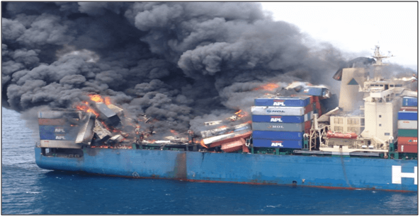 Cargo Losses from Logistic Risks