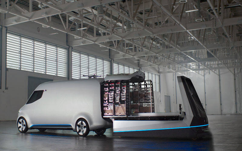 Electric Delivery Vehicle - SIPMM