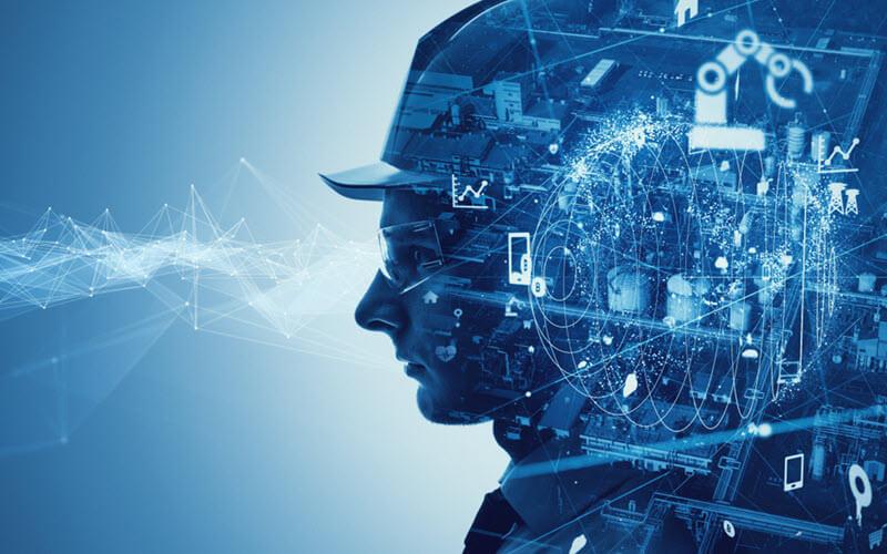 Futuristic Digital Supply Chain Concept - SIPMM