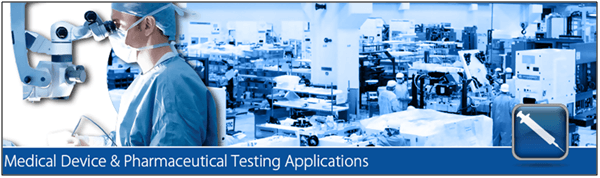medical device pharmaceutical testing