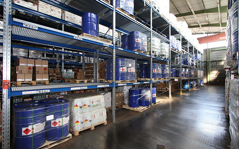 Dangerous goods storage in Warehouse - SIPMM