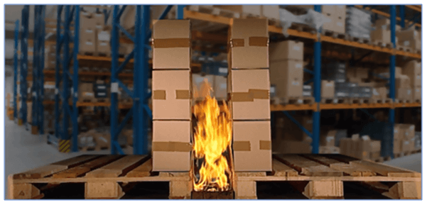 Warehouses fire safety