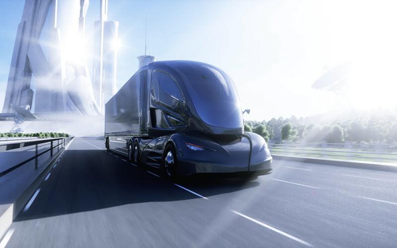 Modern Electric Truck