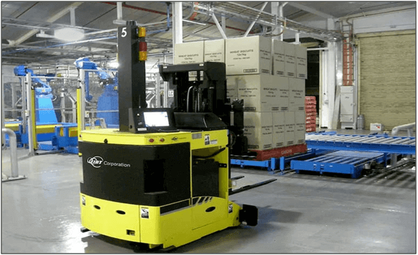 Automated guided vehicles agvs