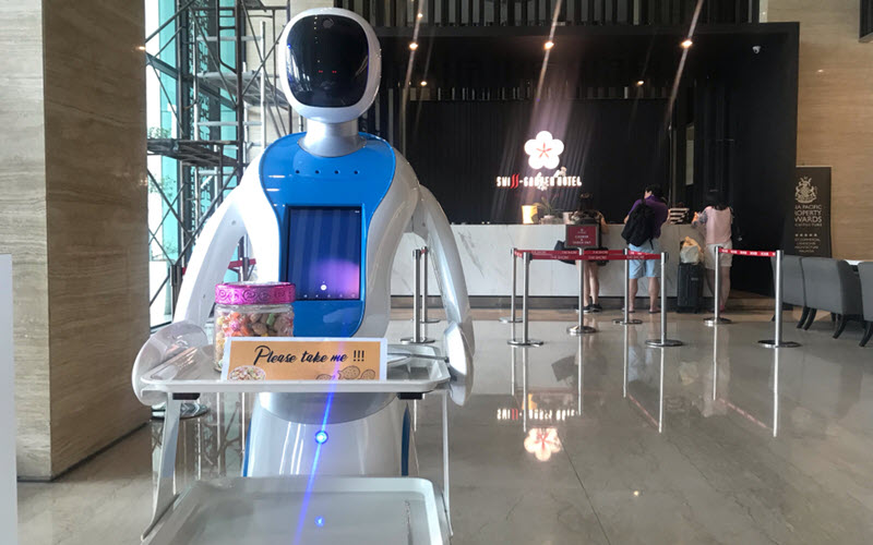 Artificial Intelligence Robotic Hotel
