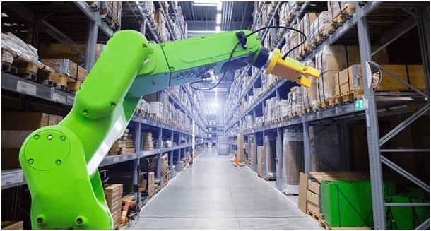 Industry warehouse robotics