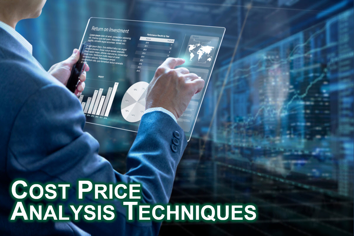 Cost Price Analysis Techniques