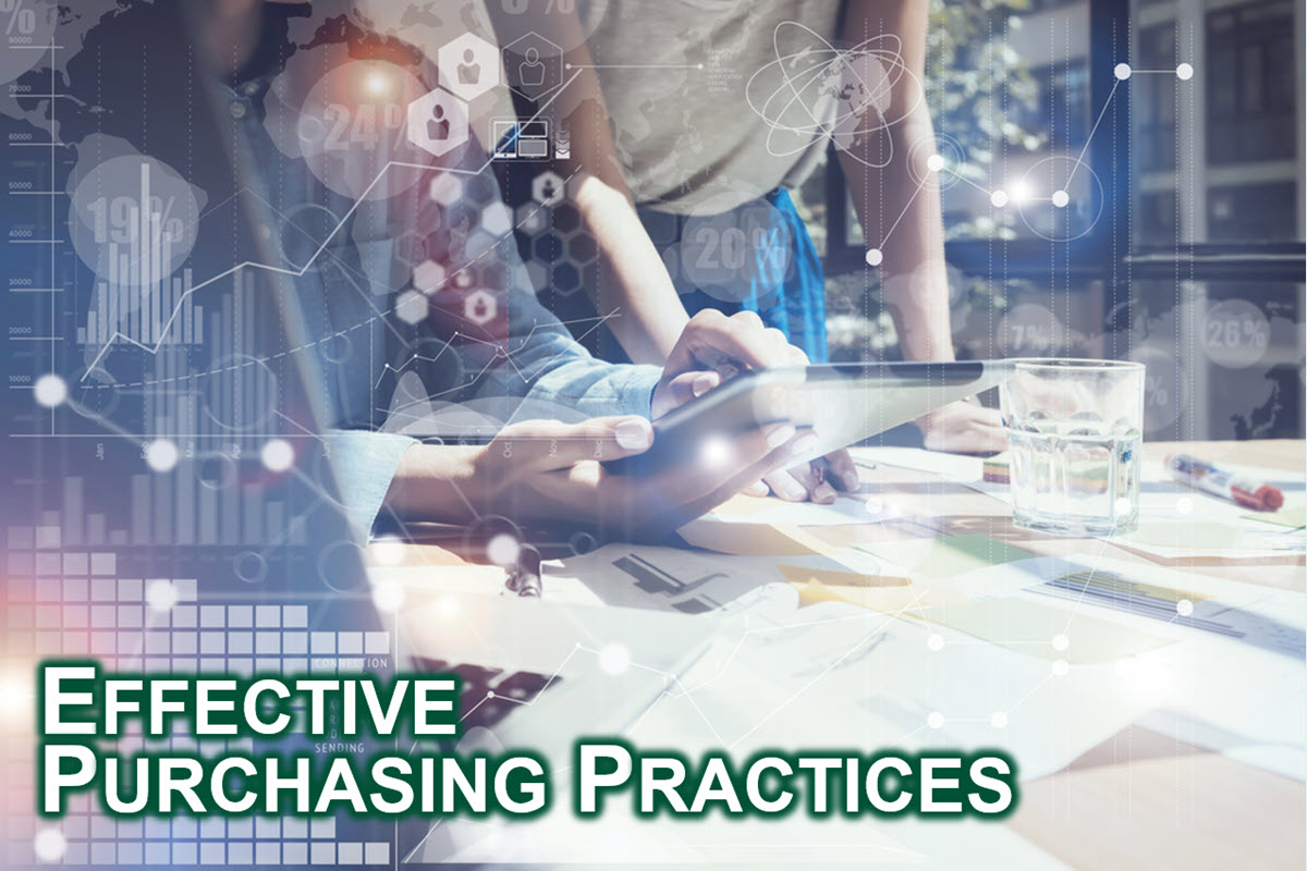 Effective Purchasing Practices