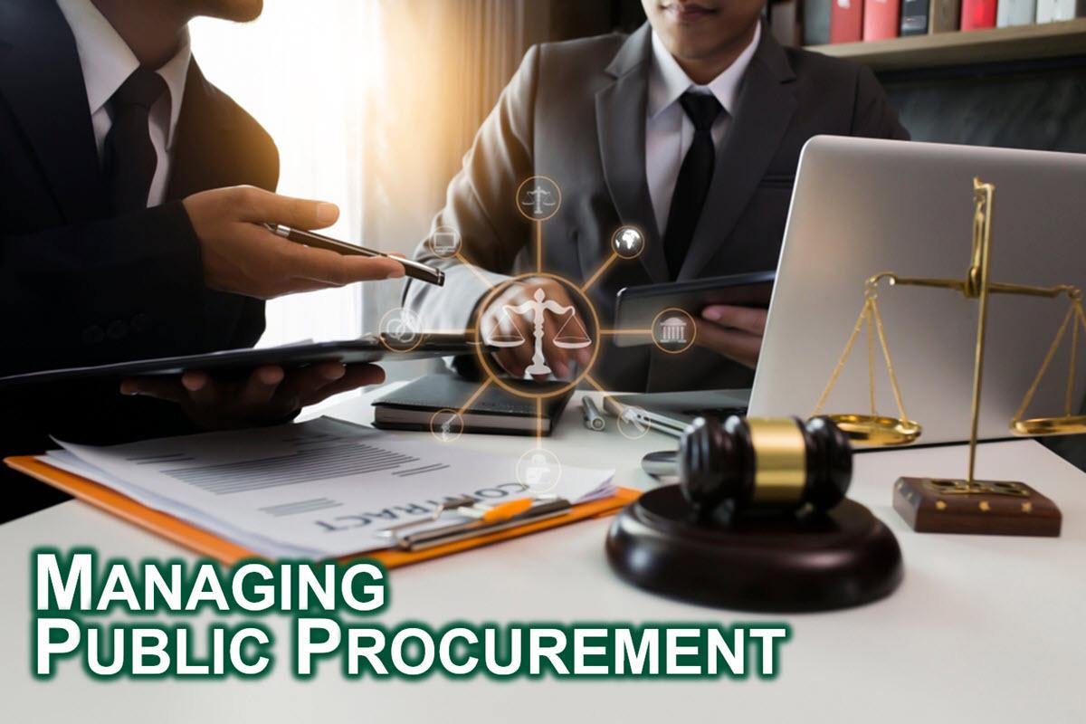 Managing Public Procurement